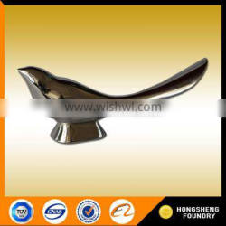 Investment casting stainless steel decoration craft /metal animal sculpture