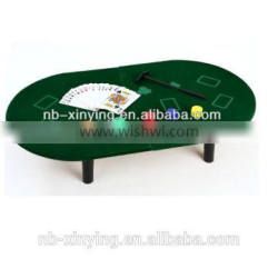 Hot selling Mini popular Poker Game include 50pcs chips and a table easy-taking