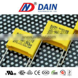 Taiwan the best supplier of exporters list class x2 275v film for capacitor