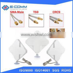 Hot sale!! 4G LTE SMA *2 Mimo indoor 700-2700mhz 35dbi magnetic antenna for huawei router