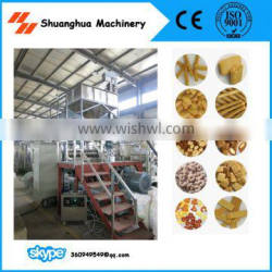High Output Corn Puff Snack Food Extruder Machine with CE Certification ISO9001