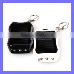 Multifunction Mobile External Power Bank with 3 LED Solar Keychain Light