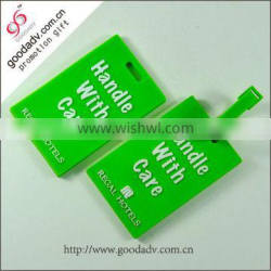 The Chinese brand manufacturers standard size PVC custom luggage tag