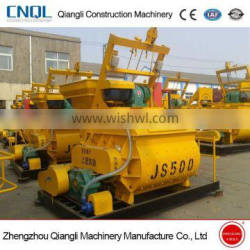 JS500 Concrete Mixer Supply With CE Italy