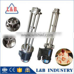 high shear batch emulsifying mixer for ice cream/smoothies