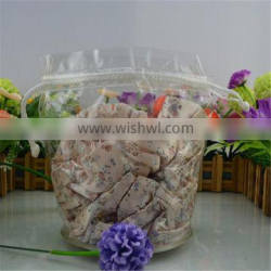 Plastic clear swimwear packaging bags for suitcase packaging