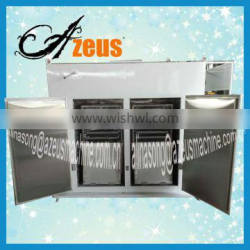 strawberry dryer/hot air circulating tray dryer/tray dryer for vegetable and fruits