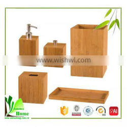 China Hotel Bamboo Balfour Sets Bathroom Accessories