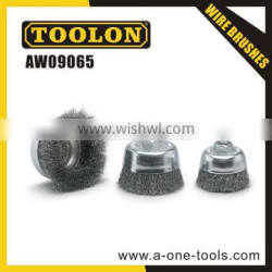 sweeper wire cup brush wire wheel brush
