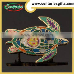 Hard enamel animal lapel pins, OEM are welcome with high quality, China Factory