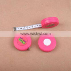 Promotional ABS Plastic Round Shape 3 Meter 10Ft Tape Measure