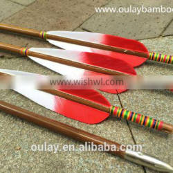 Hand-painting Bowhunting Arrows For Archer & Hobbist