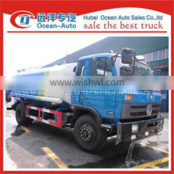 Dongfeng 4X2 drive wheel 12000liter tank drinking water tank truck for sale