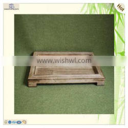 unique glass decorative wood serving feet table tray