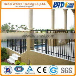 decorative ornamental steel fence/wrought iron fence