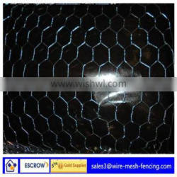 ISO9001:2008 low price high quality Galvanized Hexagonal Wire Netting (factory)