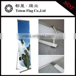 Outdoor L Banner Stand