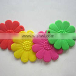 silicone table ware insulation pad heat resistant place mat flower shape trivet mat non slip coasters
