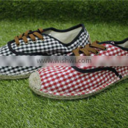 2016 classic rubber rope bottom leisure cloth shoes