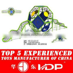 Outdoor rope excersise playground equipment