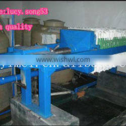 plate and frame type filter press system for sell