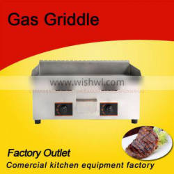 With CE Certification gas table top griddle