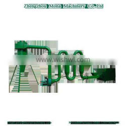 Full automatic Energy efficient Air Flow Pipe Dryer for shavings