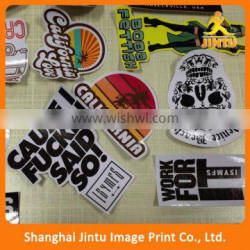 2016 Self-adhesive Transparent Labels Window Clings Quality Choice