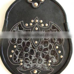 Semi Dress Deluxe Leather Sporran Made Of Fine Quality Leather Material