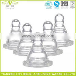 Medical Grade Liquid Silicone Rubber Baby Bottle Nipples