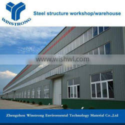 New design high quality prefabricated warehouse building