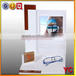 2014 hot sale first quality acrylic sunglass display case