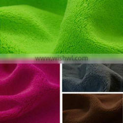 100% polyester super soft coral fleece fabric for bathrobe china wholesale