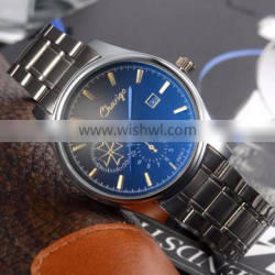 Wholesale luxury good quality cheap stainless steel watches with water resistant