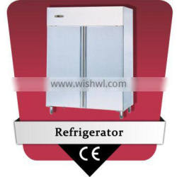 GN 2/1 pan stainless steel commercial refrigerator