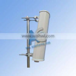 wireless 2.4ghz MIMO sector sectory dual polarized antenna airMAX