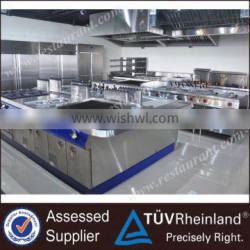 Industrial Energy-saving Commercial Kitchen Equipment Customizable