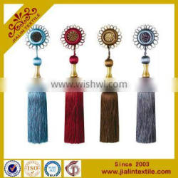 Decoration tassel rayon material home decor tassel type with decoration flower small tassel Quality Choice