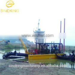 hot sale cutter suction dredger-Water Flow Rate 1200m3/h
