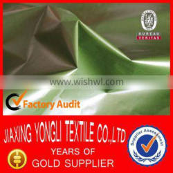 190T Polyester Pongee Fabric With Oil Cire