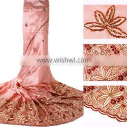 2014 african george lace fabric for garment