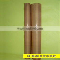 Hot sale supply good quality non-stick teflon finish fabric with ROHS certificate