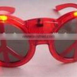 Multi-Colored LED Light-Up Flashing Rave Party Glasses