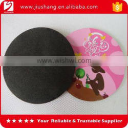 Custom cheap fancy EVA foam cup stacking mat coaster with full color printing logo