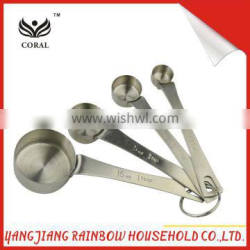 2016 whole stainless steel measuring spoon