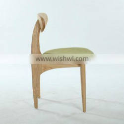 Elegant Upholstered Solid Wood Dining Chair