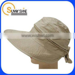 Sunny Shine custom soft sun hat with butterfly knot