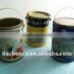 5L round metal paint can