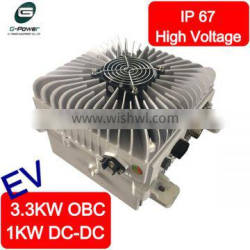 1KW DC-DC Converter Integrated with 3.3KW Air Cooled OBC - High Voltage