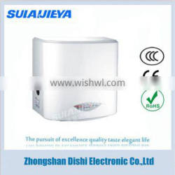 plastic material mini electric hand dryer for restroom